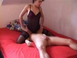 Young Couple Femdom Play
