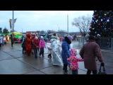 21.12.2014 Встреча с Дедом Морозом ДК Кремёнки