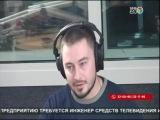 Об Антикафе Трапезная. Прямой эфир передачи Якутск сегодня на Саха24. 28.10.2014.